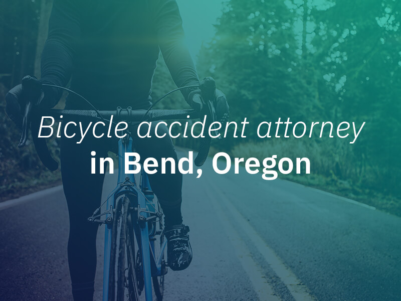 Bend Bicycle Accident Lawyer