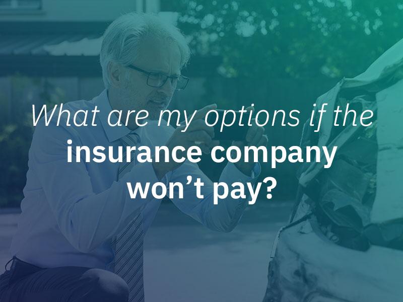 Insurance denied.