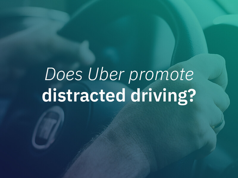 Uber distracted driving