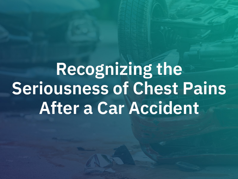 chest pain after car accident
