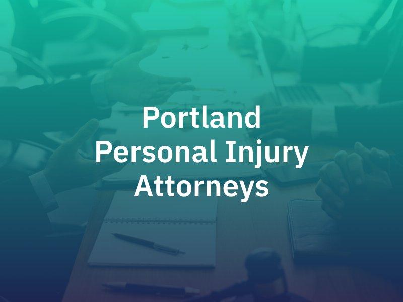 Portland personal injury lawyer