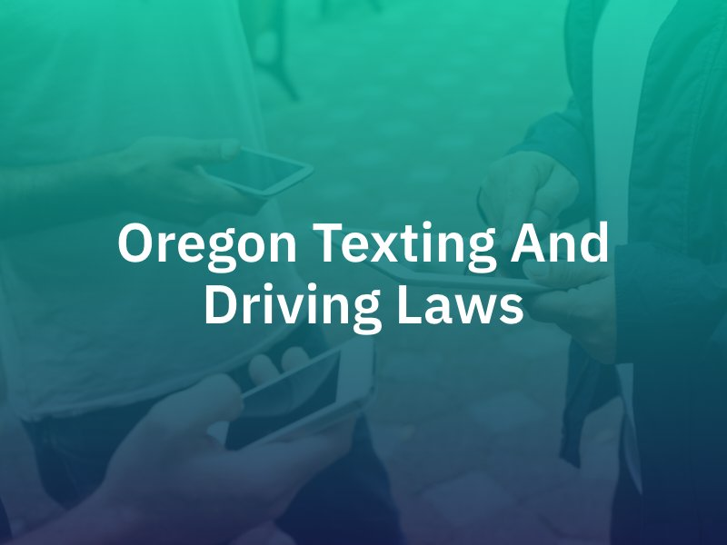 OR text driving laws